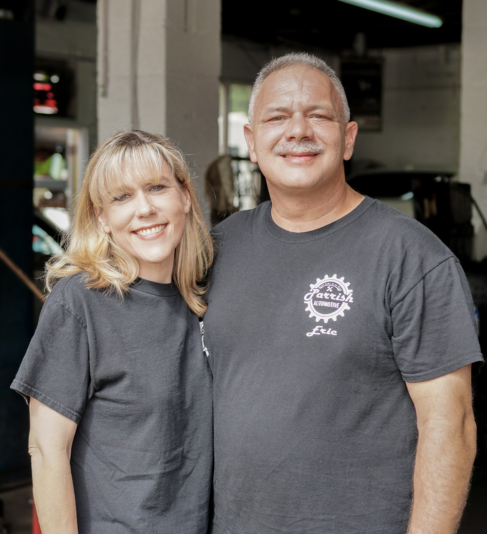 Eric & Christy at Parrish Automotive